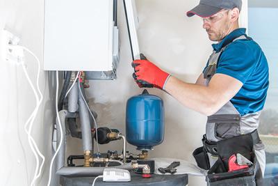 Gas boiler repair