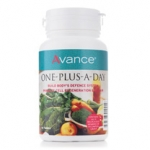 Avance One-Plus-A-Day - A Multi-Vitamin & Mineral Vegetarian