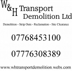 W&H Transport Demolition Ltd